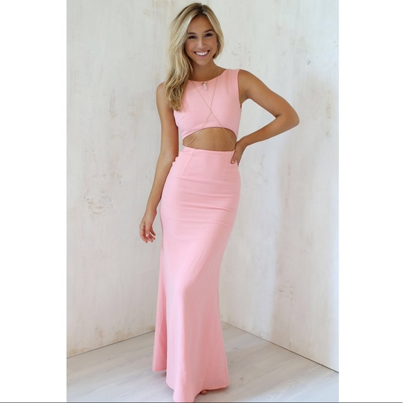 fb4a41926a Sabo Skirt Dresses | Pink Blush Leader Maxi Formal Gown | Poshmark